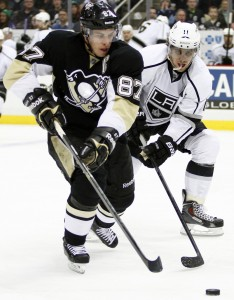 Crosby vs. LA, (3/27/140, the eventual Stanley Cup Champions