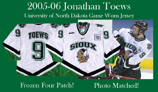 new style 53acd 2f291 The Holy Grail of Fighting Sioux Game Worn Items - Men's ...