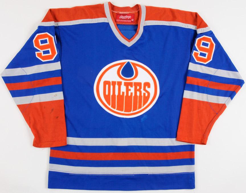 the latest 00404 7a27b Wayne Gretzky WHA Edmonton Oilers Replica Jersey – 1978-79 ...