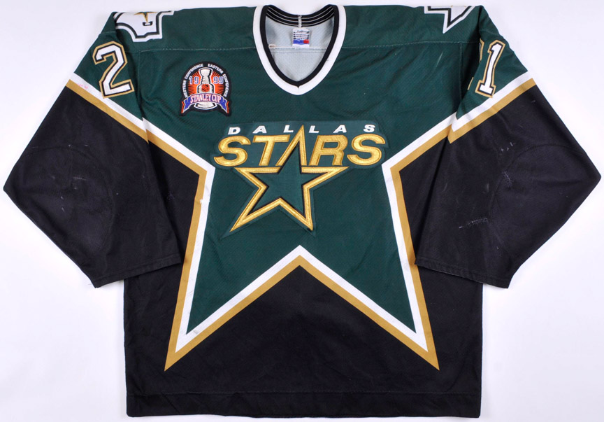 1998-99 Guy Carbonneau Dallas Stars Stanley Cup Finals Game Worn Jersey -  The Guy d49b01d01