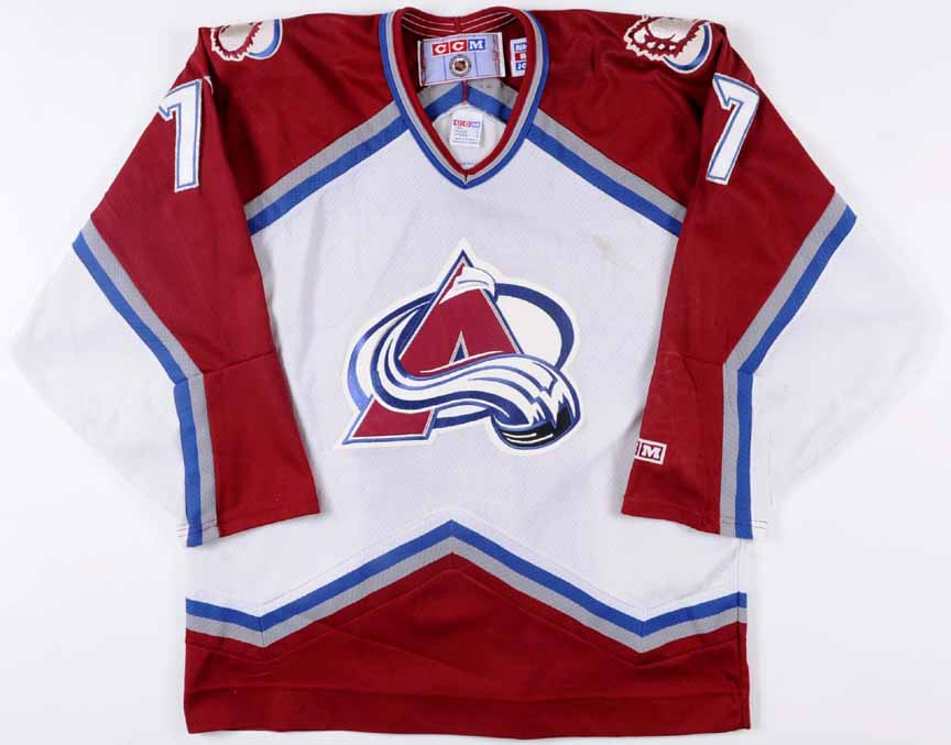new styles 45827 db9e1 ray bourque colorado avalanche jersey