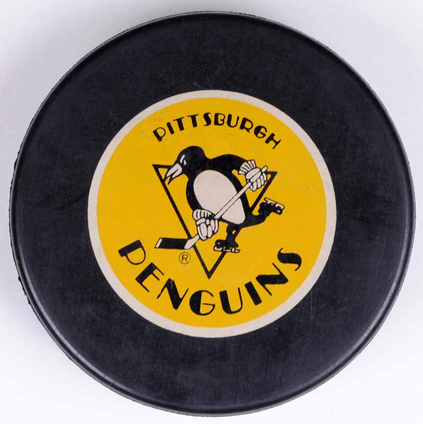 Pittsburgh Penguins 1991 Stanley Cup Champions Puck