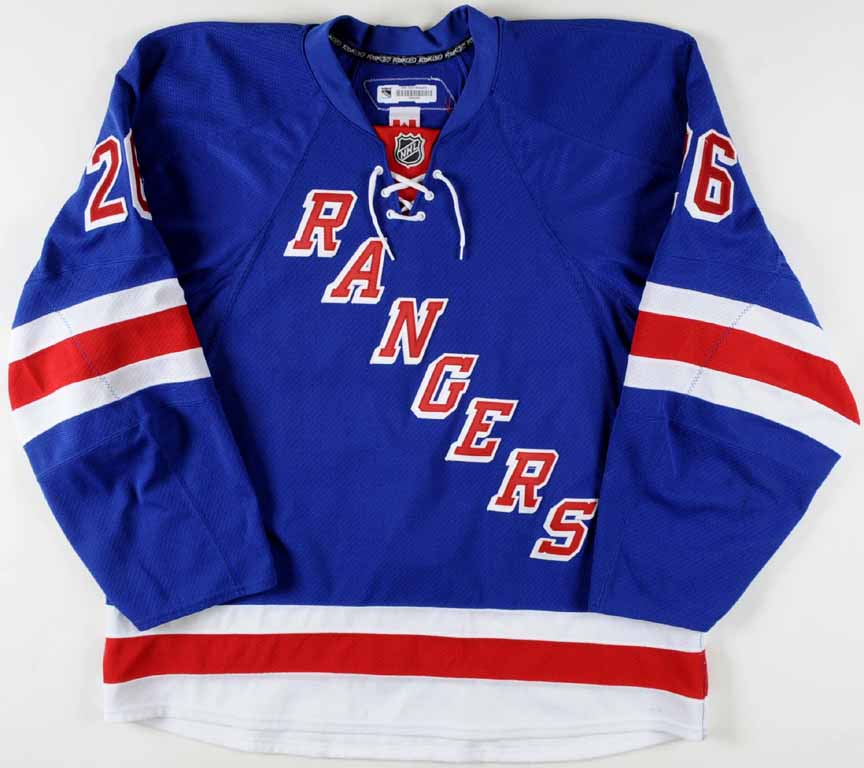 a53649381 ... get 2011 12 ruslan fedotenko new york rangers game worn jersey team  letter photo 50251 f5437