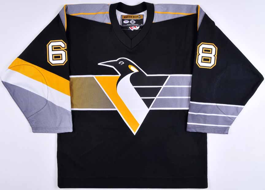 huge discount 0e90f eac46 Jaromir Jagr Pittsburgh Penguins Autographed Authentic ...