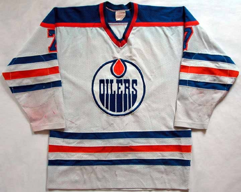 722e5a0869d 1980-81 Paul Coffey Oilers Game Worn Jersey - Rookie Jersey - Photo Matched  -