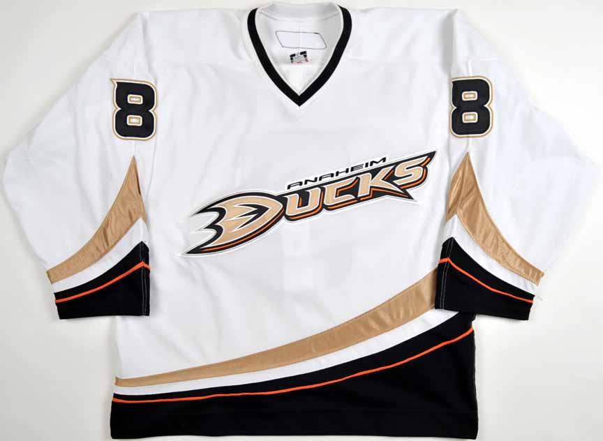 best website b57b6 fbae8 2006-07 Teemu Selanne Anaheim Ducks Game Worn Jersey ...