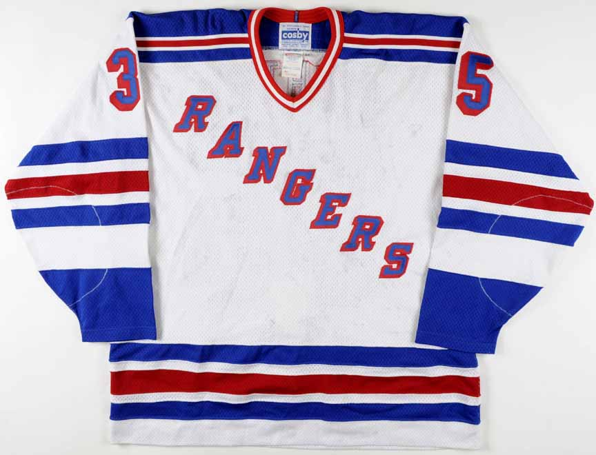 brand new ebb65 ed93a Mike Richter New York Rangers Authentic Jersey - Autograph ...