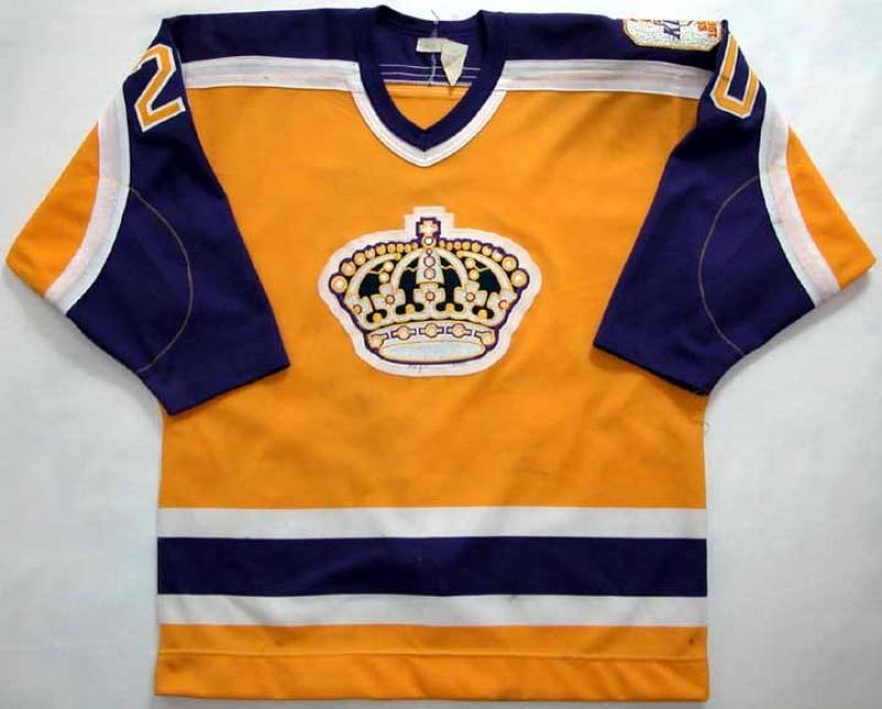 promo code 763dd 4f68a la kings old school jersey