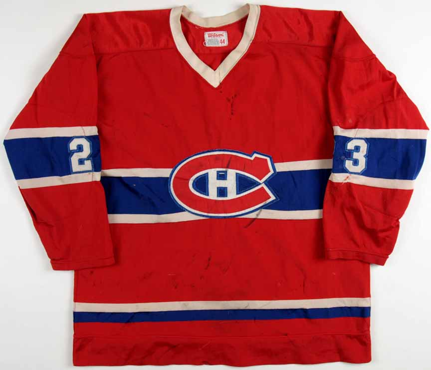 finest selection d96b1 4c1cb 1976-77 Bob Gainey Montreal Canadiens Game Worn Jersey ...