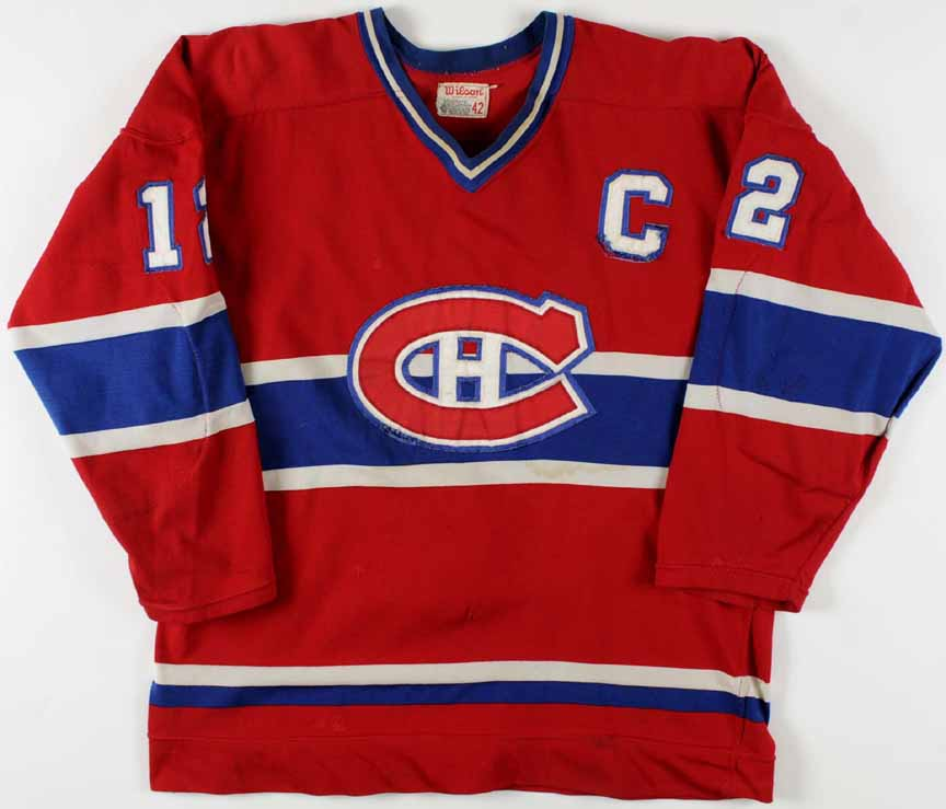 2c71a935232 1978 Yvan Cournoyer Montreal Canadiens Game Worn Jersey - Stanley Cup  Season - Photo Match