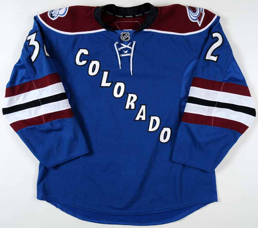 wholesale dealer d9cfb bace0 2009-10 Kevin Porter Colorado Avalanche Game Worn Jersey ...