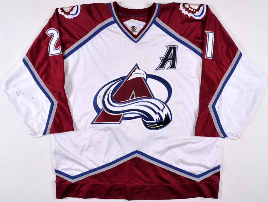 1998-99 Peter Forsberg Colorado Avalanche Game Worn Jersey - 1st Team NHL  All Star 04a6a07f5ef