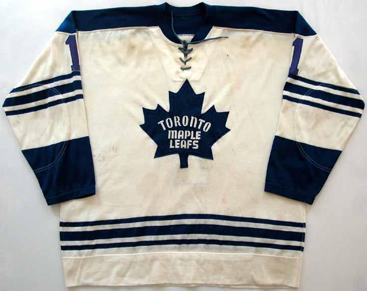 ad573d813c6 1968 Turk Broda Maple Leafs Ceremony Worn Jersey: GAMEWORNAUCTIONS.NET