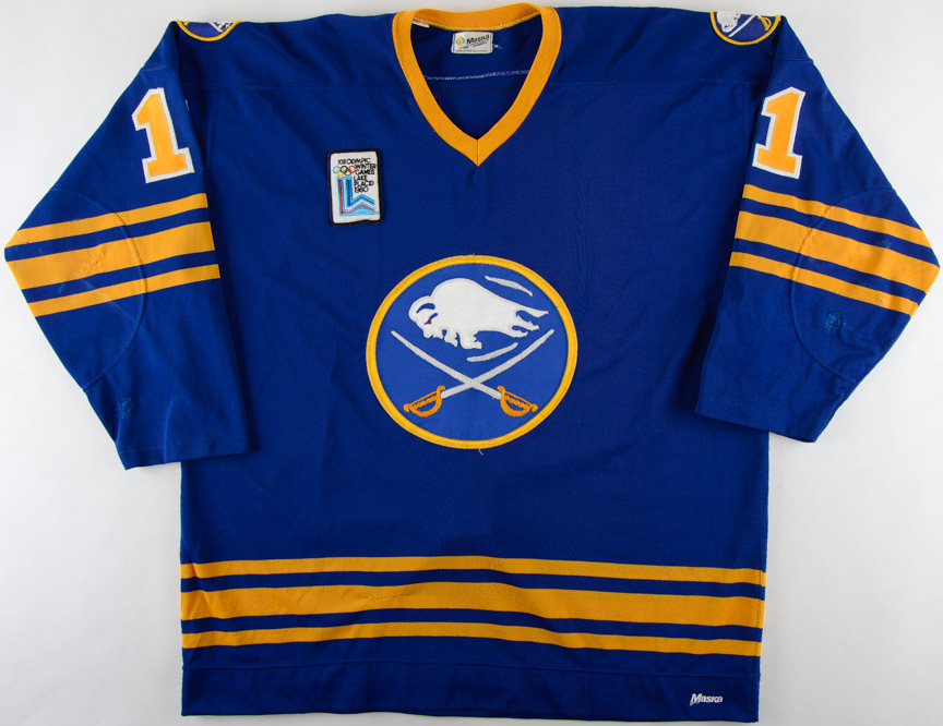 new style 3bb68 e0921 1979-80 Gilbert Perreault Buffalo Sabres Game Worn Jersey ...