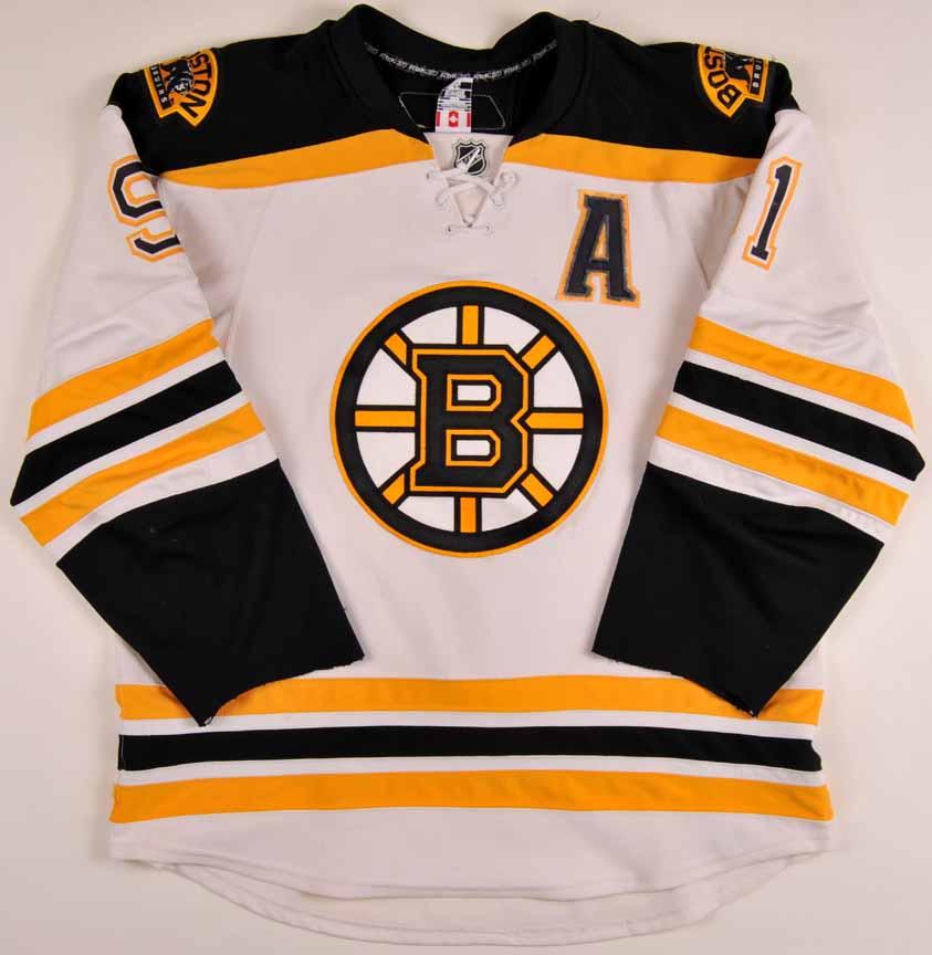 2007-08 Marc Savard Boston Bruins Game Worn Jersey