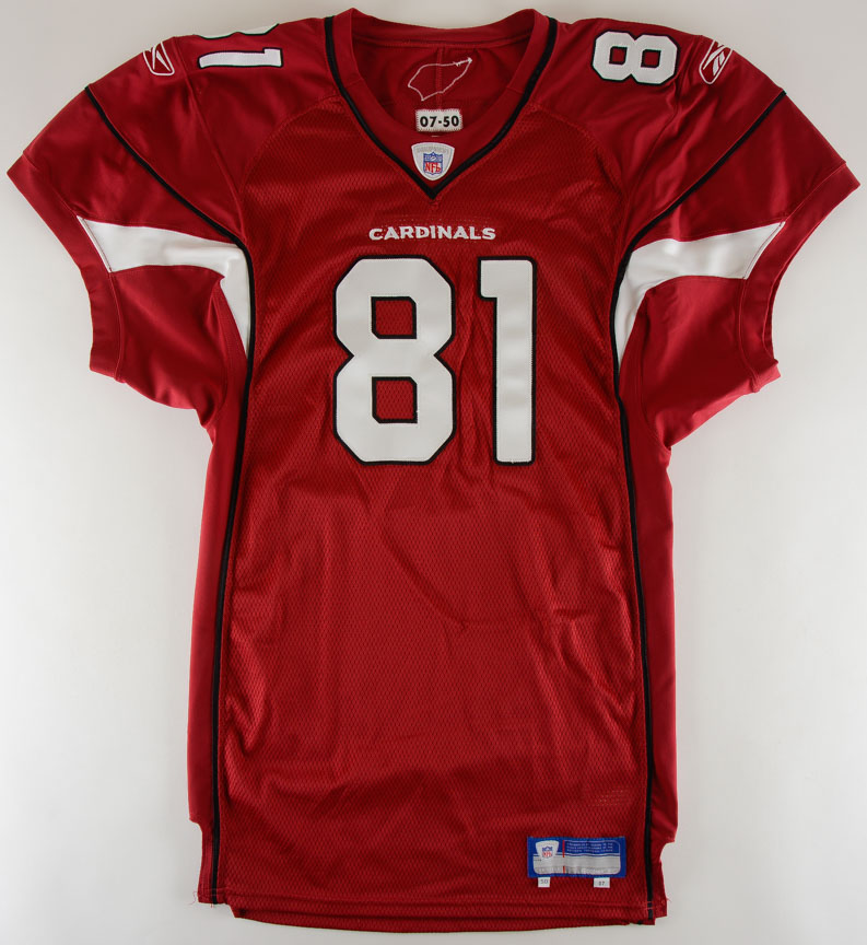 2007 Anquan Boldin Arizona Cardinals Game Issued Jersey ...