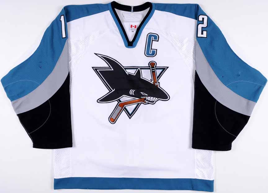 online retailer 37375 43e4f 2005-06 Patrick Marleau San Jose Sharks Game Worn Jersey ...