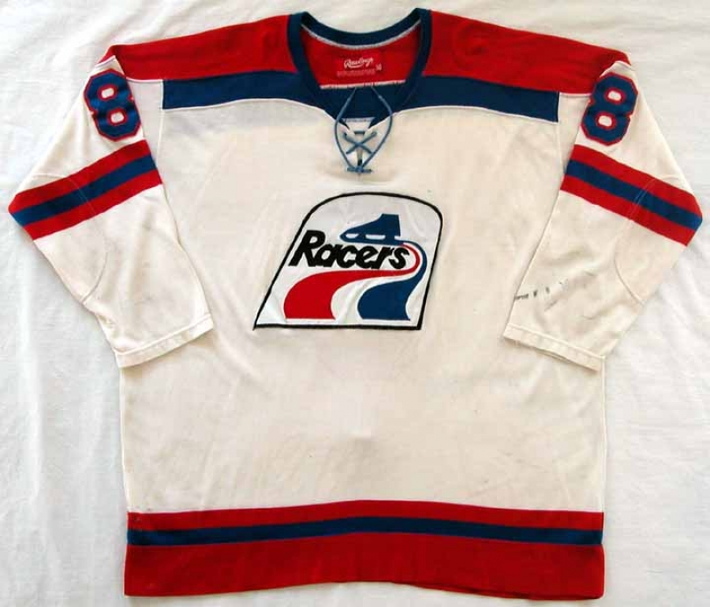 huge selection of d4f6a 6c781 1977-78 Rene Leclerc Indianapolis Racers Game Worn Jersey ...