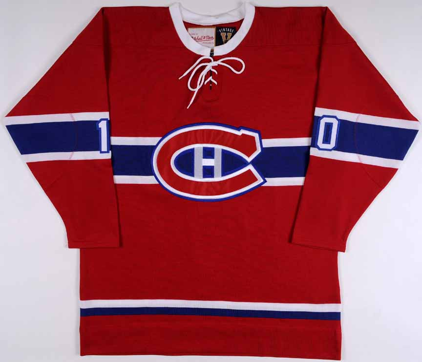 reputable site 6f5ff 04145 Guy Lafleur Montreal Canadiens Replica Jersey ...