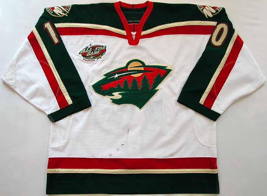 huge discount e642e 98dfc minnesota wild first jersey