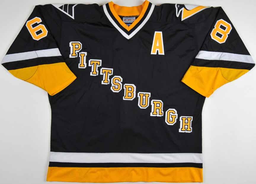1997-98 Jaromir Jagr Pittsburgh Penguins Game Worn Jersey ... 15ab846b4