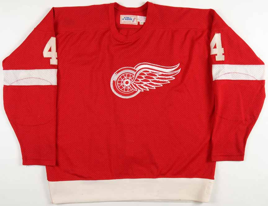 014531a3a99 1979-80 Thommie Bergman Detroit Red Wings Game Worn Jersey ...
