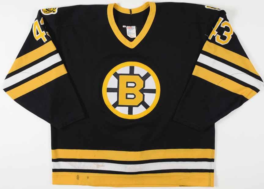 1993-94 Al Iafrate Boston Bruins Game Worn Jersey - Photo Match ... 96ee67ae152