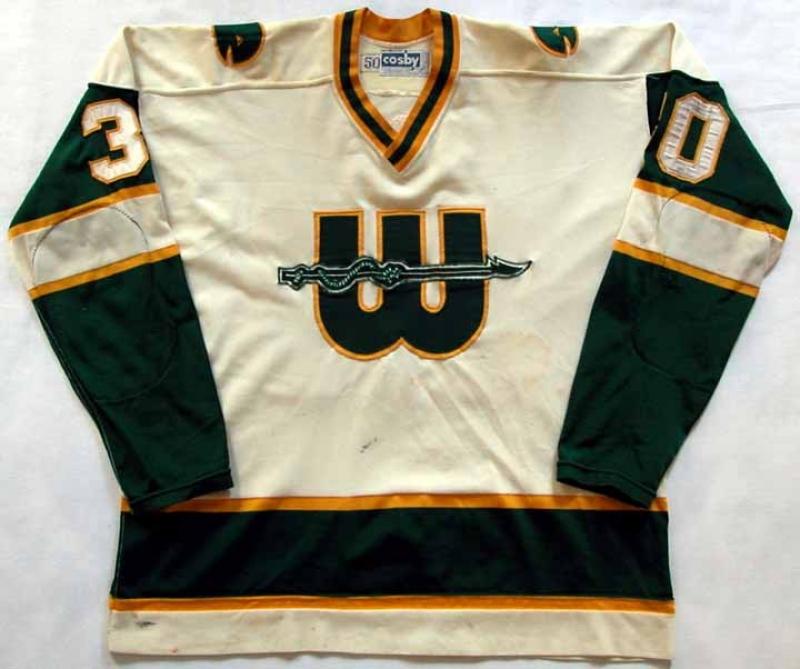 1977 78 Louis Levasseur New England Whalers Game Worn