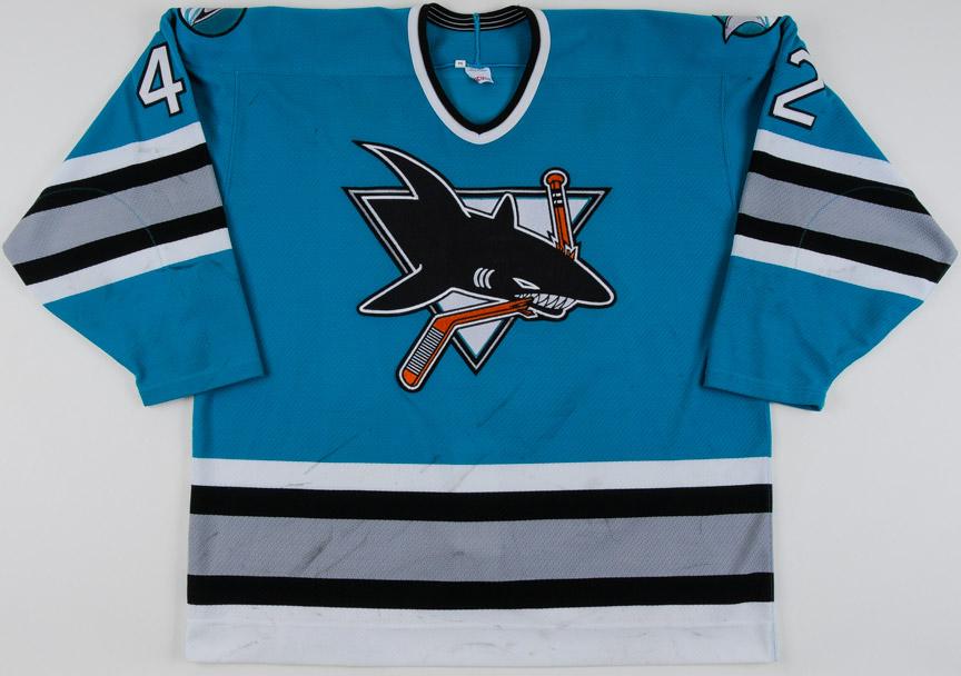 san jose sharks jersey