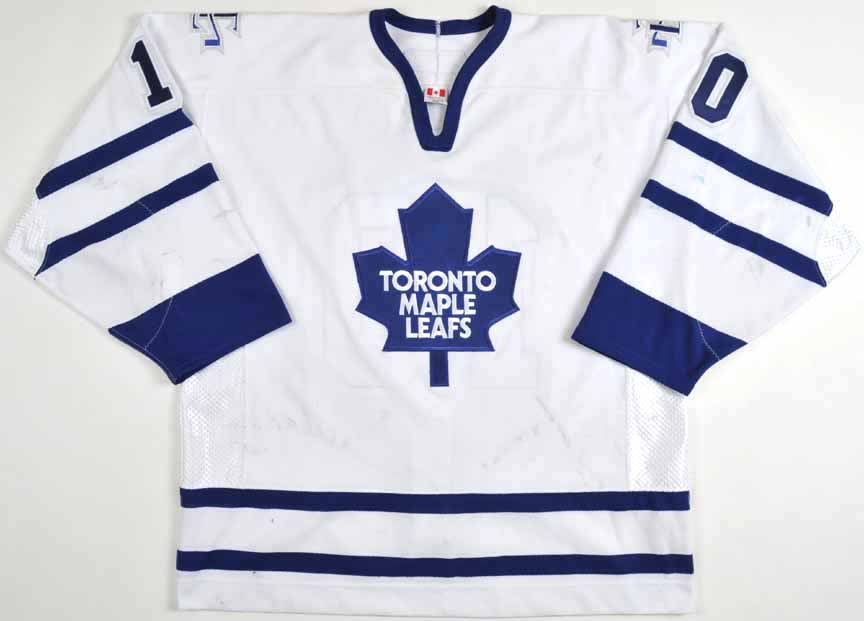 reputable site d6659 a1ab4 2005-06 Alexander Steen Toronto Maple Leafs Game Worn Jersey ...