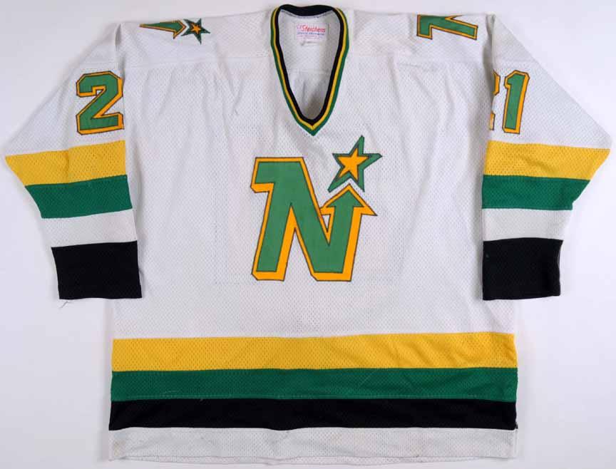 the best attitude bbe47 530f3 1982-83 George Ferguson Minnesota North Stars Game Worn ...