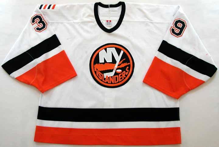 2002-03 Rick Dipietro Islanders Game Worn Jersey - Rookie - NHL Letter 0996c938d