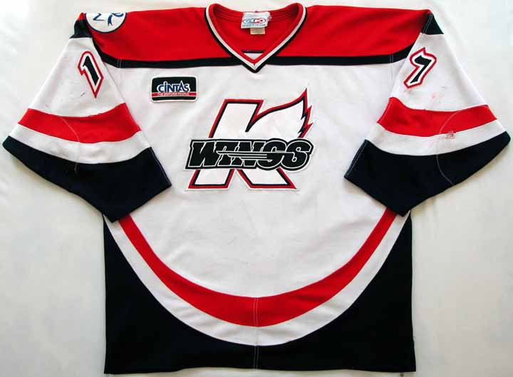 2005-06 Tim Turner UHL Kalamazoo Wings Game Worn Jersey