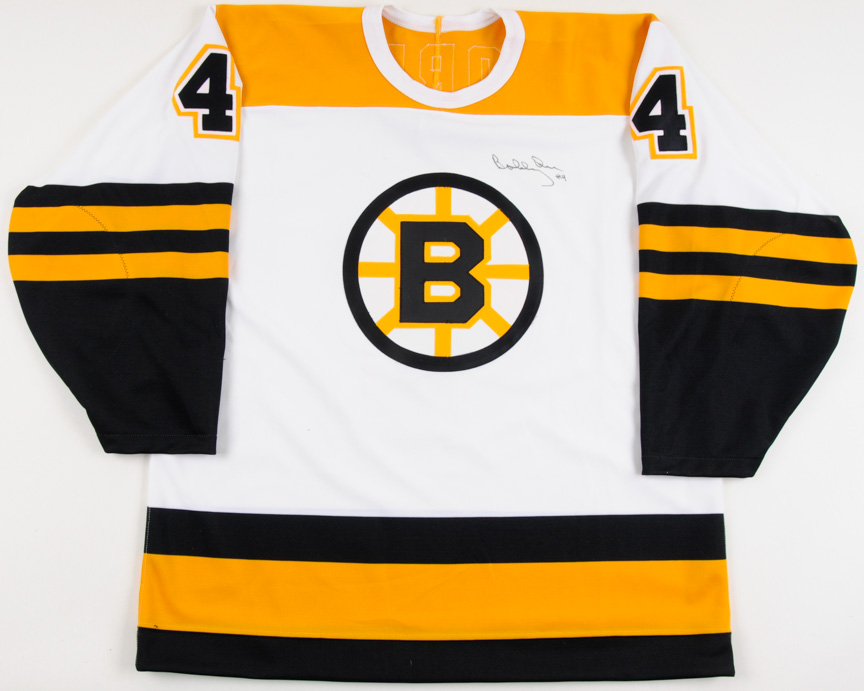 Bobby Orr Boston Bruins Autographed Replica Jersey – The Patrick Roy  Collection – Patrick Roy Letter cfad97dbd