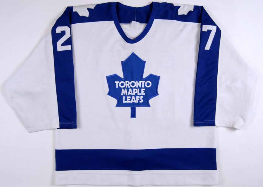 1989-90 John Kordic Toronto Maple Leafs Game Worn Jersey - Honored Number 41149f252