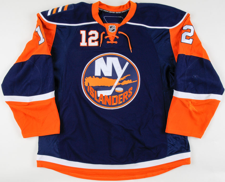 check out 54d78 254ad 2008-09 Josh Bailey New York Islanders Game Worn Jersey ...