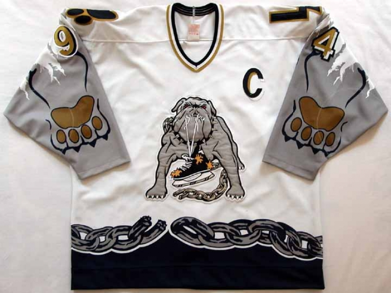 NHL Dog Sweater Montreal Canadiens Source · Late 1990 s Long Beach Ice Dogs  Game Worn Jersey Player 94 3716049e0