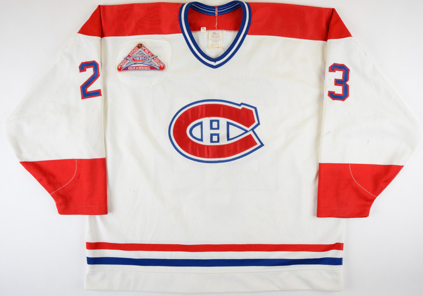 promo code 5e222 382f7 1991-93 Brian Bellows Montreal Canadiens Game Worn Jersey ...