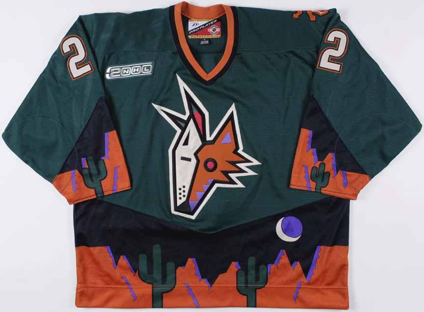 r hockey s favorite uniform jersey from each team  Arizona Coyotes ... 8ca5eb18507