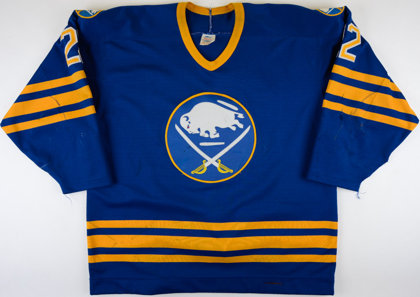 5aff48a4853 1988-89 Rick Vaive Buffalo Sabres Game Worn Jersey: GAMEWORNAUCTIONS.NET