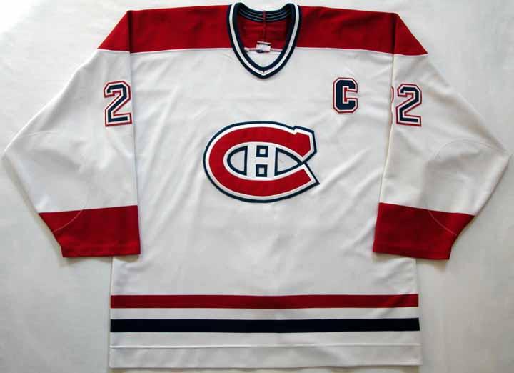 2000-01 Eric Weinrich Canadiens Game Worn Jersey  GAMEWORNAUCTIONS.NET 204c0e589