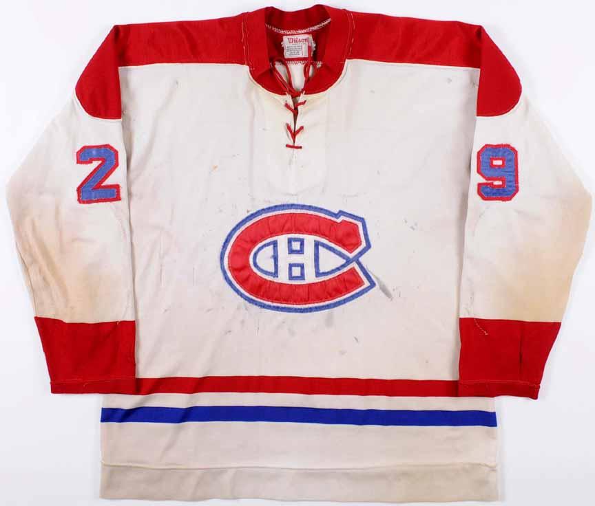 1971-72 Ken Dryden Montreal Canadiens Game Worn Jersey - Rookie - Calder  Trophy- aac3b3a59
