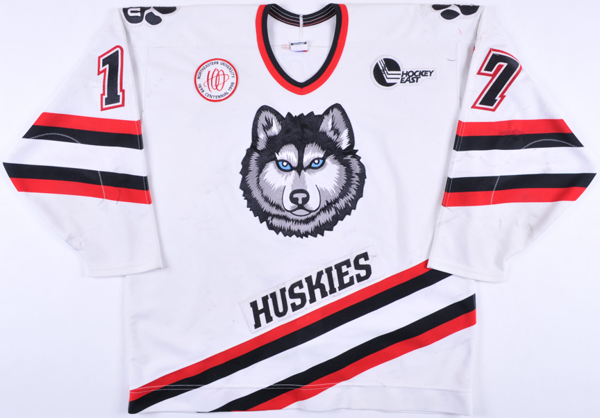 timeless design b6153 d868c 1997-98 Todd Barclay Northeastern University Huskies Game ...