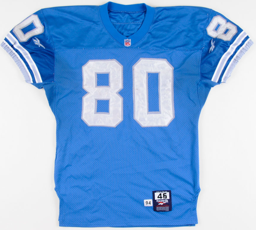 1730939c935 1994 Brett Perriman Detroit Lions Game Worn Jersey: GAMEWORNAUCTIONS.NET