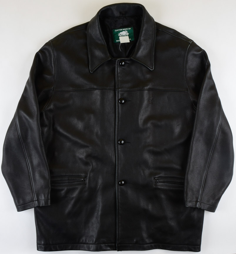 Darryl Shannon Nhlpa Leather Jacket The Darryl Shannon Collection Darryl Shannon Letter Gamewornauctions Net