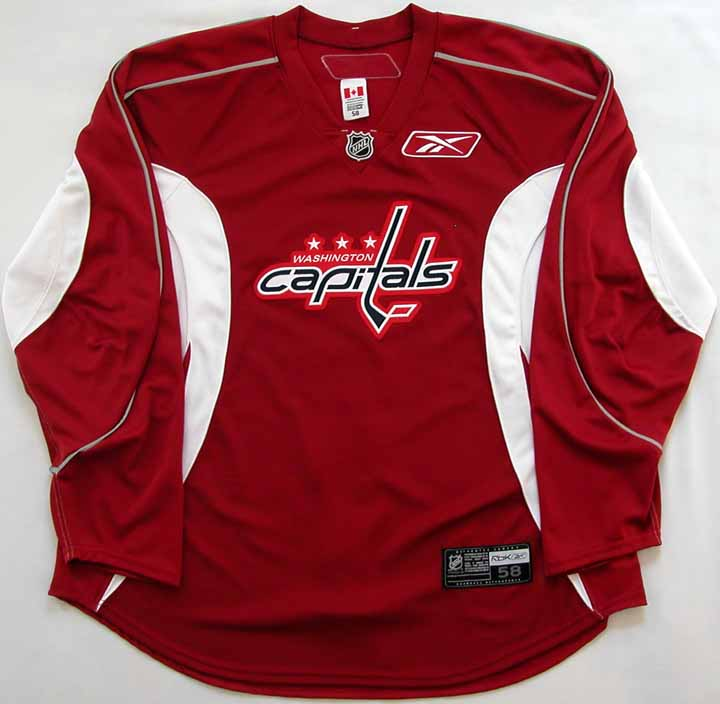 515706d4f germany 2007 08 sergei fedorov capitals practice worn jersey nhl letter  d326a a0622