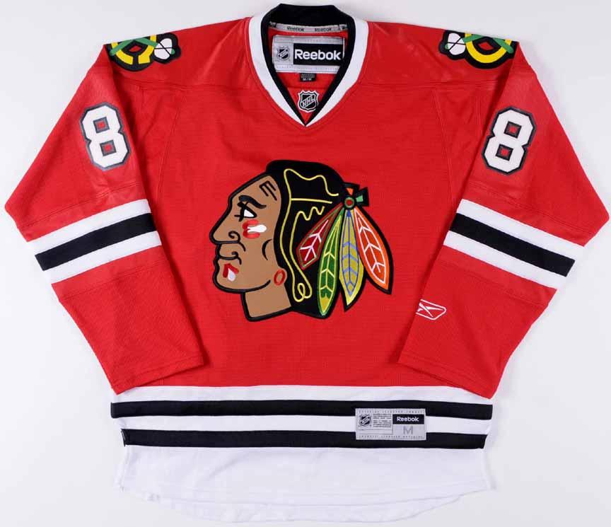 b2af624871d Patrick Kane Chicago Blackhawks Replica Jersey: GAMEWORNAUCTIONS.NET