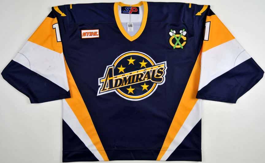2000 01 Jeff Maund Norfolk Admirals Game Worn Jersey