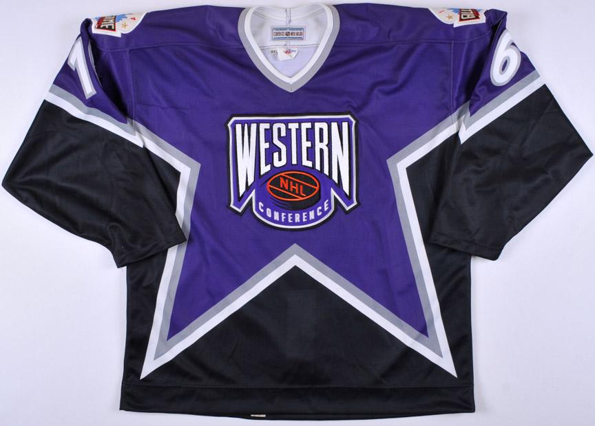 "1994 Brett Hull NHL All Star Game Worn Jersey – ""1994 MSG NYC All Star 5fba1acdf81"