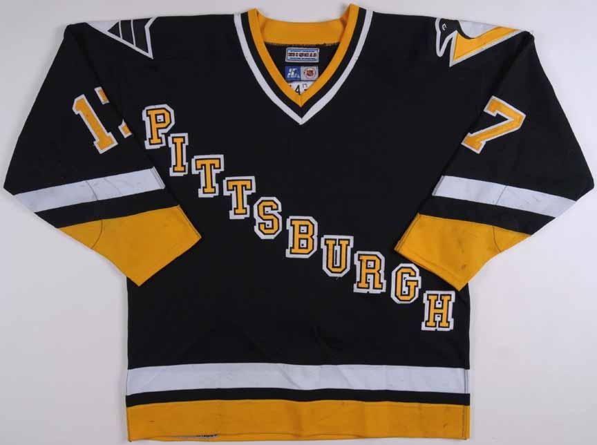 1996-97 Tomas Sandstrom Pittsburh Penguins Game Worn